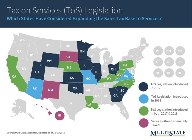 Self-Service Laundry Legislation Map